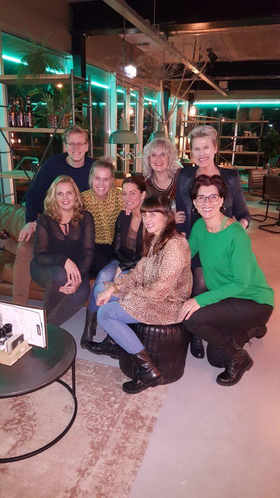 Ons team, Heidi, Jose, Marlies, Patricia, Wendy, Maarten, Lil, Astrid